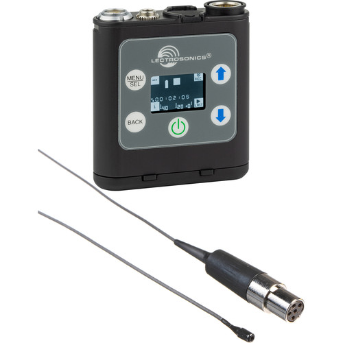 Lectrosonics Portable Digital Recorder Kit with Countryman B6 Lavalier