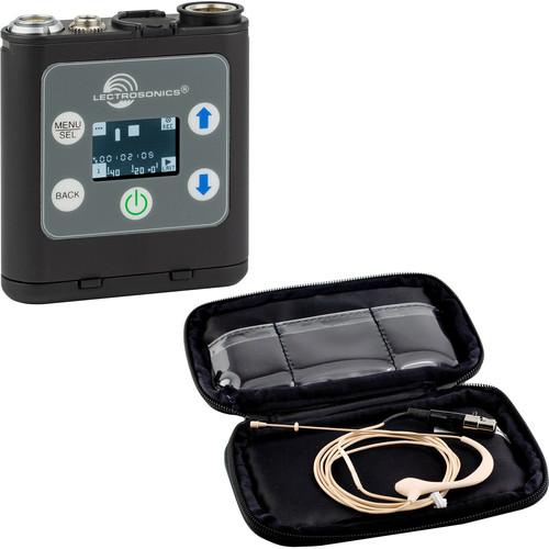 Lectrosonics Portable Digital Recorder Kit with HM172 Omnidirectional Earset Microphone