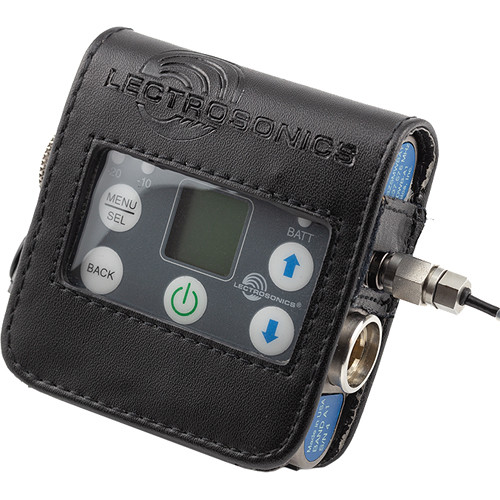Lectrosonics Leather Pouch with Belt Clip for SMDWB Transmitter
