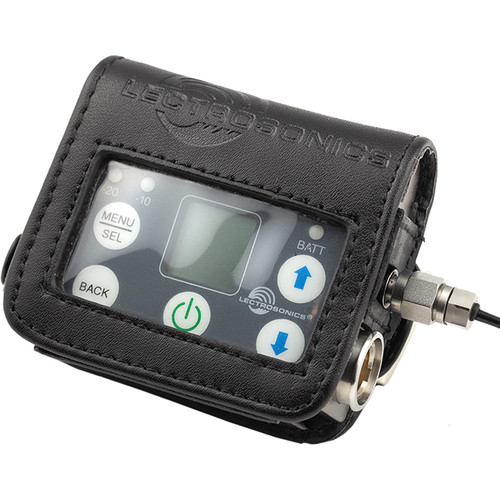 Lectrosonics Leather Pouch with Belt Clip for SMWB Transmitter