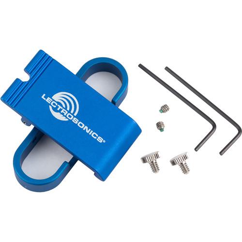 Lectrosonics SMDWBBCSL Spring-Loaded Metal Belt Clip Kit (Antenna Up or Down)
