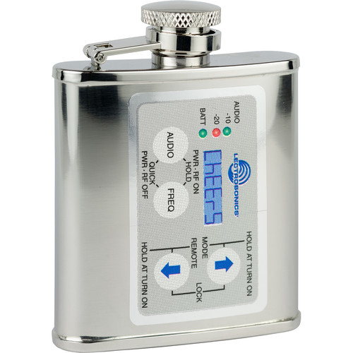 Lectrosonics SM Series Transmitter-Style Flask (3 oz)