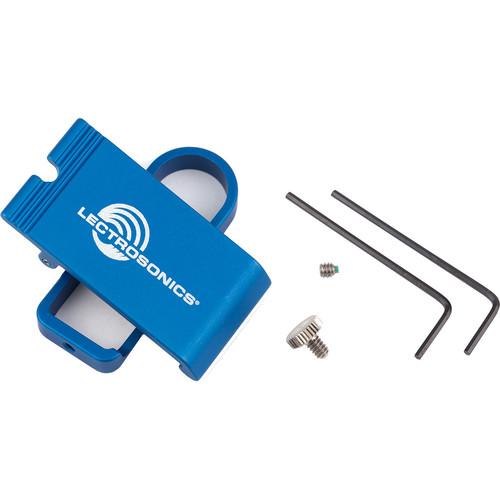 Lectrosonics SMWBBCUPSL Spring-Loaded Metal Belt Clip Kit (Antenna Up)