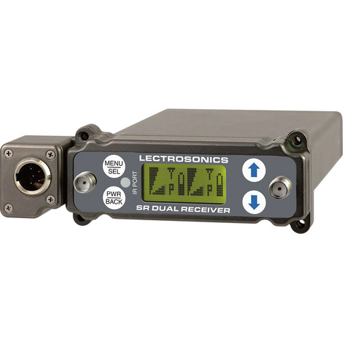 Lectrosonics SRc5P Dual-Channel Slot-Mount ENG Receivers (A1: 470.100 to 537.575 MHz)