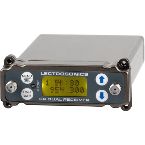 Lectrosonics SRc Dual-Channel Slot-Mount ENG Receiver (941: 941.525 to 959.825 MHz)