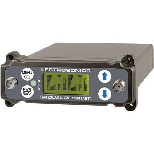 Lectrosonics SRc Dual-Channel Slot-Mount ENG Receivers (C1: 614.400 to 691.175 MHz)