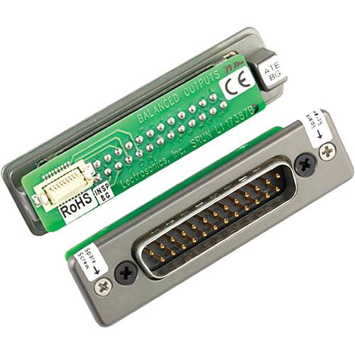 Lectrosonics SRDB25 Unislot Adapter for Duopack, Quadpack and Octopack