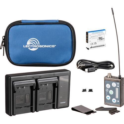 Lectrosonics SSM Micro Belt-Pack Wireless Transmitter with VT500 Lavalier Mic Kit (A1: (470.100 - 537.575 MHz))