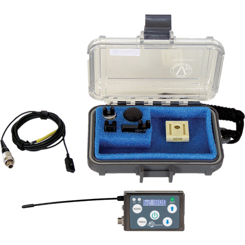 Lectrosonics SSM Micro Belt-Pack Wireless Transmitter with VT500 Lavalier Mic Kit (A1: (470.100 - 537.575 MHz))