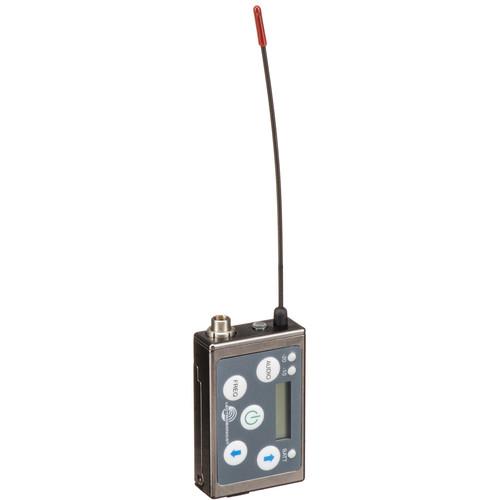 Lectrosonics SSM Micro Belt-Pack Wireless Transmitter with VT500 Lavalier Mic Kit (B1: (537.600 - 614.375 MHz))