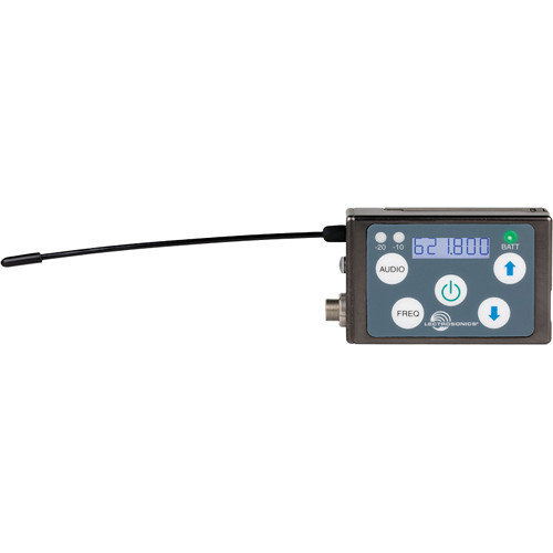 Lectrosonics SSM Micro Belt-Pack Wireless Transmitter with VT500 Lavalier Mic Kit (C1: (614.400 - 691.175 MHz))