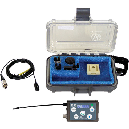 Lectrosonics SSM Micro Belt-Pack Wireless Transmitter with VT500 Lavalier Mic Kit (C1: (614.400 - 691.175 MHz))