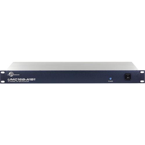 Lectrosonics UMC16B-A1B1 16-Channel UHF Antenna Multicoupler (470 to 614 MHz)