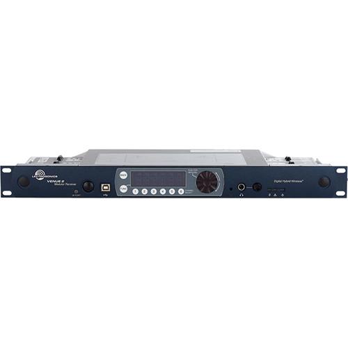Lectrosonics Venue2 Six-Channel Modular Receiver (470.100 to 691.175 MHz)