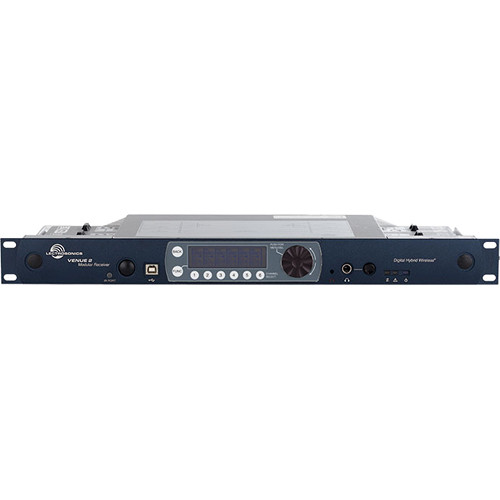 Lectrosonics Venue 2 Six-Channel Modular Receiver (470.100 to 691.175 MHz)