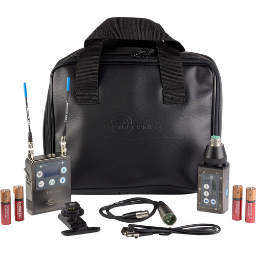 Lectrosonics ZS-LRHMa Wireless Plug-On System and L-Series Kit (C1: 614.400 to 691.175 MHz)