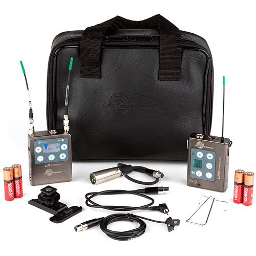 Lectrosonics L Series LR Receiver/LMb Beltpack Transmitter and Mic with Accessory Kit (C1: 614.400 - 691.175 MHz)