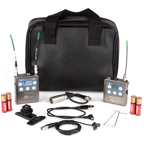 Lectrosonics L Series, LR Receiver/LT Beltpack Transmitter with Mic and Accessory Kit (C1: 614.400 - 691.175 MHz)