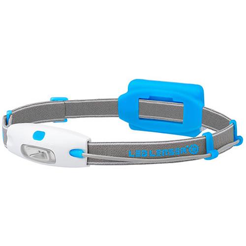 LEDLENSER Neo Headlamp (Blue, Clamshell Packaging)