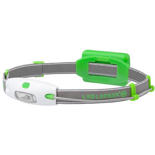 LEDLENSER Neo Headlamp (Green, Clamshell Packaging)