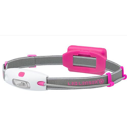 LEDLENSER Neo Headlamp (Pink, Clamshell Packaging)
