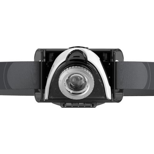 LEDLENSER SEO 5.2 Headlamp (Gray,Clamshell Packaging)