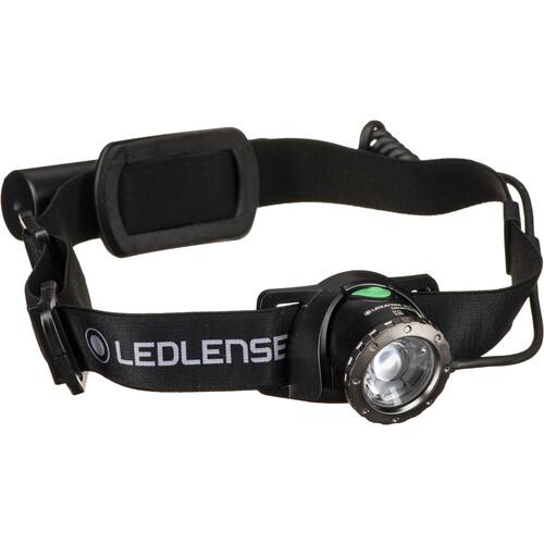 LEDLENSER MH10 Rechargeable LED Headlamp (Black)