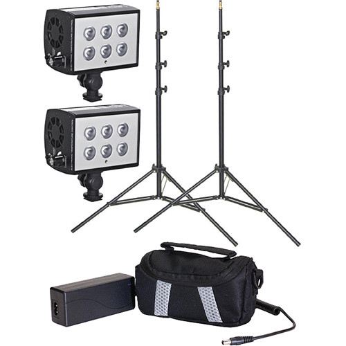 LED Science LED Science 2-Light 10-Degree Accubeam Kit with Stands