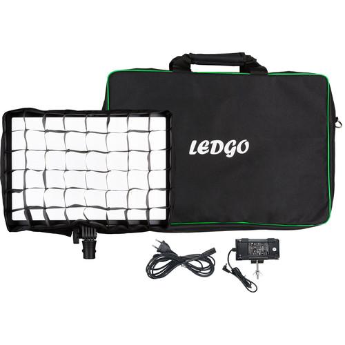 Ledgo LG-E2686 Bi-Color LED Large Pad Light Kit with Eggcrate Grid & Bag