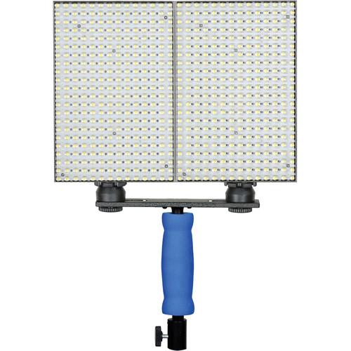 Ledgo 308 LED On-Camera Light Set with Handle (2-Pack)