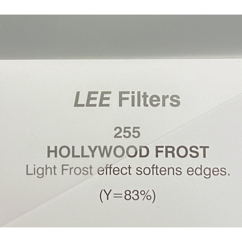 """LEE Filters 255 Hollywood Frost Filter (48"""" x 25' Roll on 2"""" Core)"""