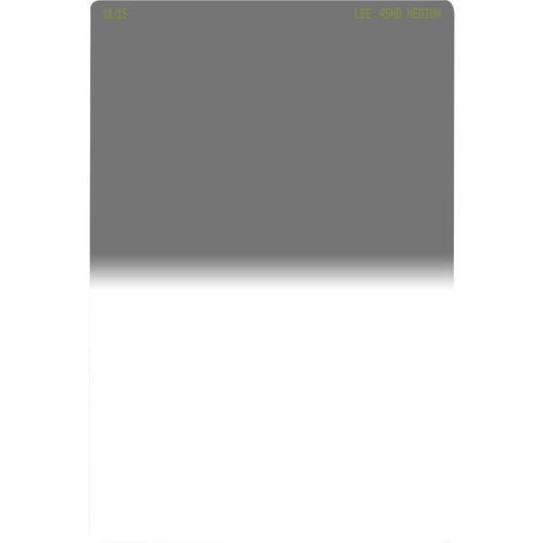 LEE Filters 100 x 150mm Medium-Edge Graduated Neutral Density 0.45 Filter (1.5-Stop)