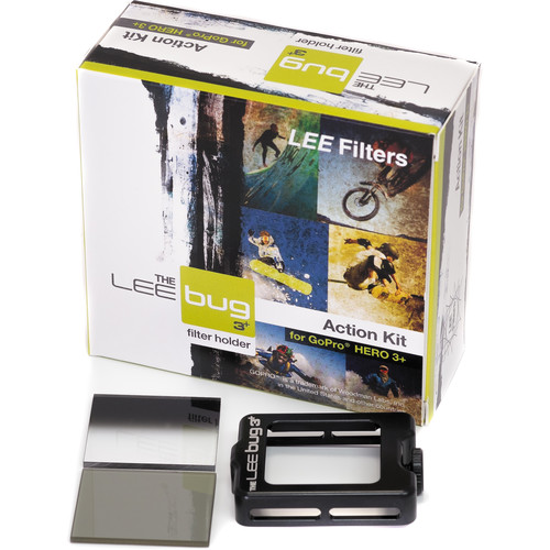LEE Filters Bug 3+ Action Kit for GoPro HERO3+/HERO4 Standard Housing