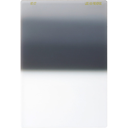LEE Filters 100 x 150mm Reverse-Graduated 0.9 Filter (3 Stops)