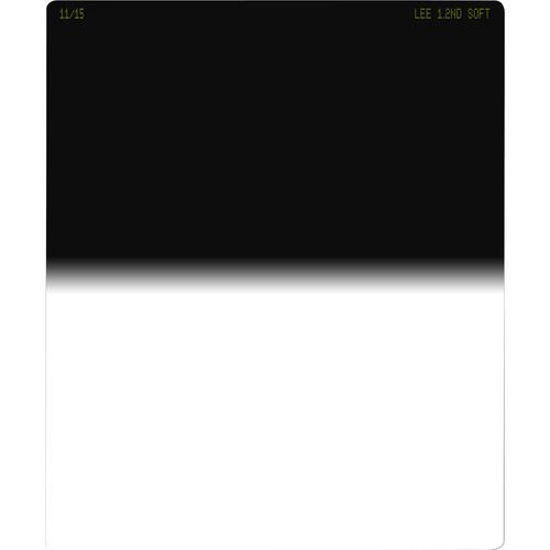 LEE Filters 75 x 90mm Soft Graduated Neutral Density 1.2 Filter