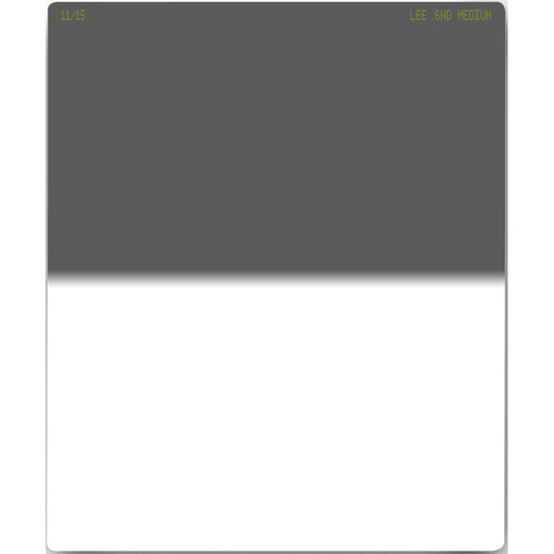 LEE Filters 75 x 90mm Seven5 Medium-Edge Graduated Neutral Density 0.6 Filter (2-Stop)