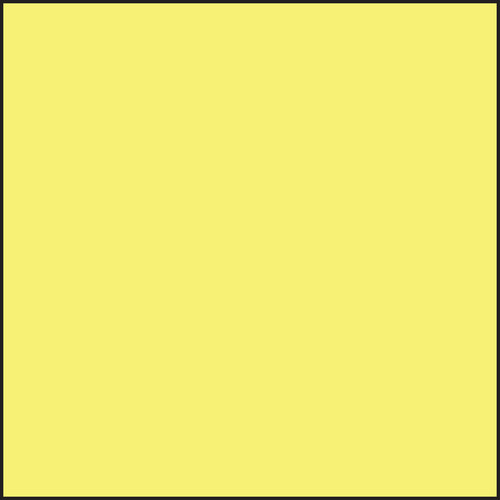 LEE Filters 150 x 150mm #3 Light Yellow Filter