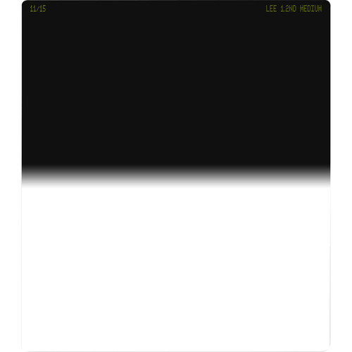 LEE Filters 150 x 170mm Medium-Edge Graduated Neutral Density 1.2 Filter (4-Stop)