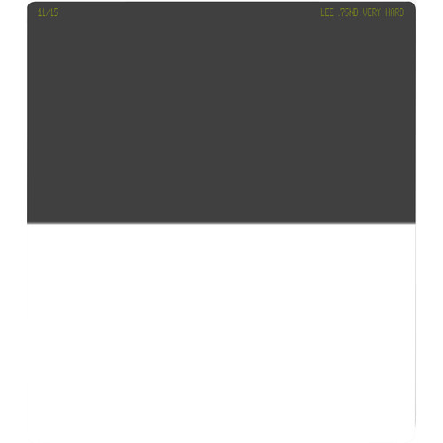 LEE Filters 150 x 170mm Very Hard-Edge Graduated Neutral Density 0.75 Filter (2.5-Stop)