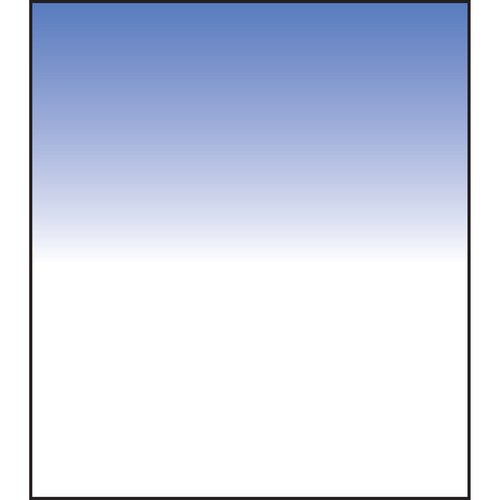 LEE Filters 150 x 150mm Soft-Edge Graduated Real Blue 3 Filter