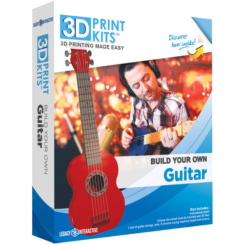 Legacy Interactive 3D Print Kits: Build Your Own Guitar