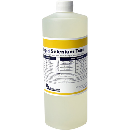 Legacy Pro Rapid Selenium Toner for Black & White Prints (32 oz)