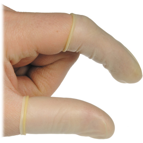 Legacy Pro Finger Cots (100-Pack, Latex)