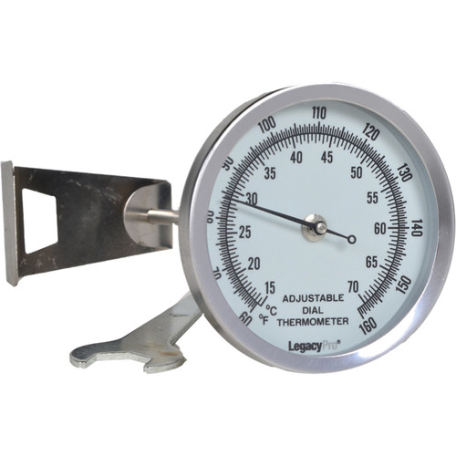 "Legacy Pro 2.25"" Luminous Dial Thermometer"