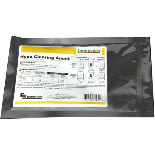 Legacy Pro Hypo Clearing Agent Powder (Makes 1.25 gal)