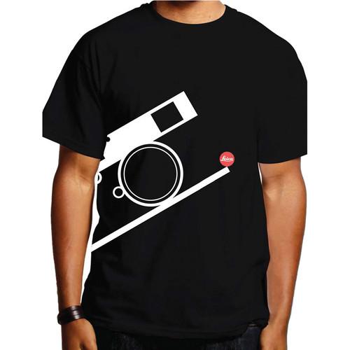 Leica Bauhaus T-Shirt (Large, White on Black)