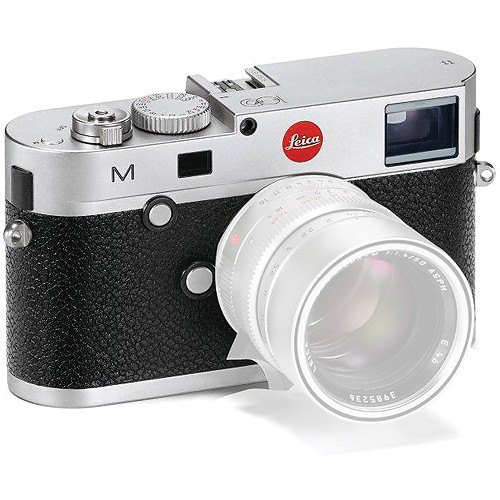 Leica M (Typ 240) Digital Rangefinder Camera (Body Only, Silver Chrome Centennial Edition)