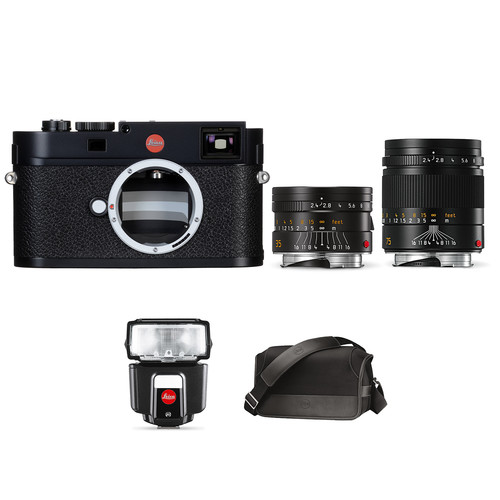 Leica M (Typ 262) Digital Rangefinder Camera with Summarit-M 35mm and 75mm f/2.4 Lenses and SF 40 Flash Bundle