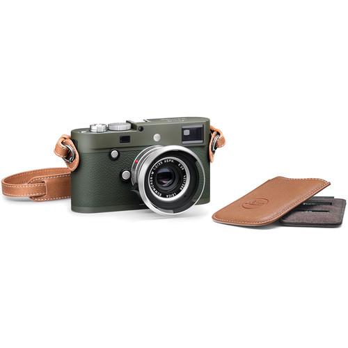 Leica M-P (Typ 240) Digital Rangefinder Camera Safari Set with Summicron-M 35mm f/2 ASPH. Lens