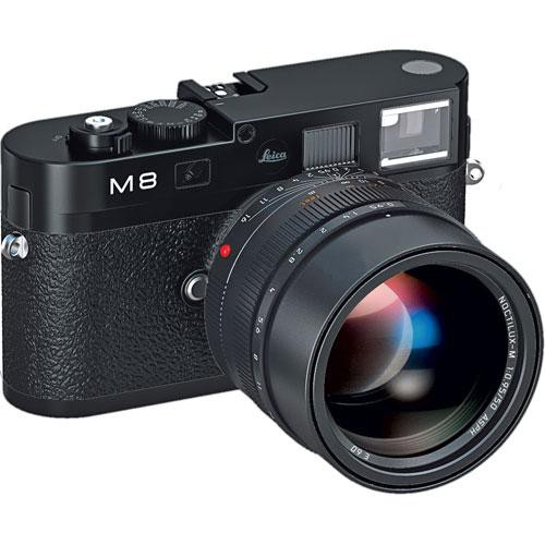 Leica M8.2 Rangefinder Digital Camera Body (Black)
